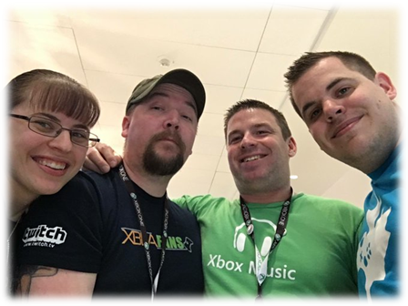 Xbox Ambassadors-Bowski, Scratch, Kiesey and NorthernZoot