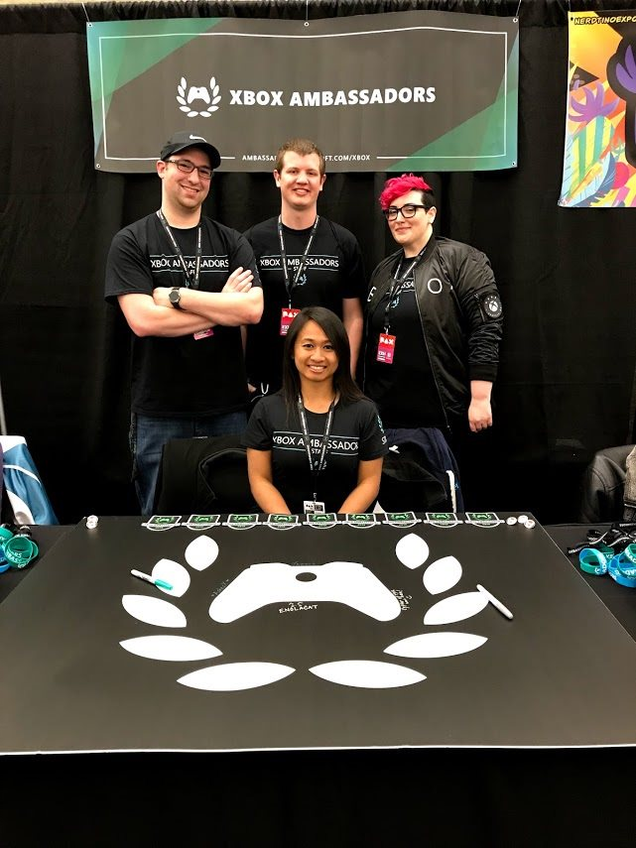 xbox-community-managers-behind-x-a-booth