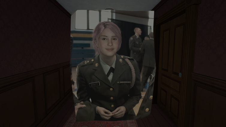 female game character from gone home