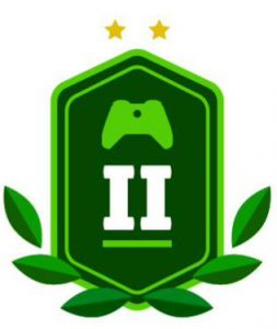 level-two-green-badge-with-controller-and-laurels