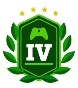 level-four-green-badge-with-controller-and-laurels