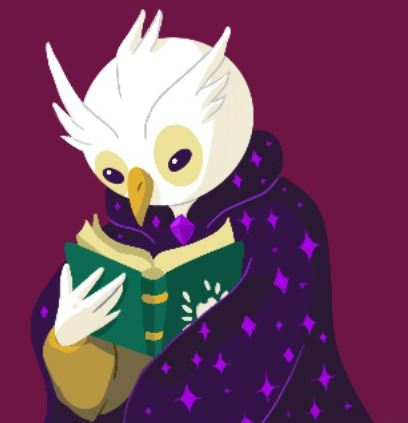 cartoon-owl-reading-a-book-wearing-a-cape