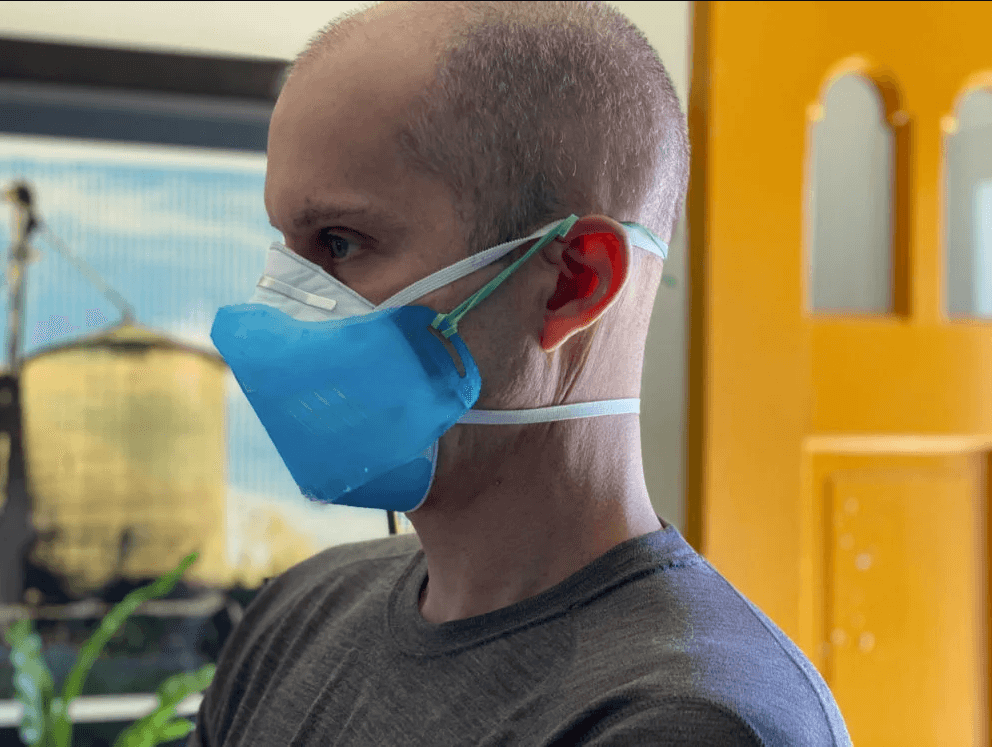 man-wearing-n95-mask-over-mouth