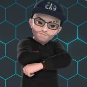 Male Xbox Avatar with glasses