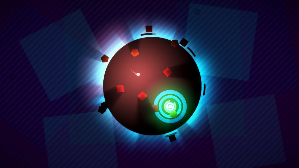 Screenshot from the game HyperDot
